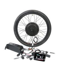 1500w  hub motor 16-28inch front rear rim electric  bicycle ebike conversion kit with battery other electric bicycle parts