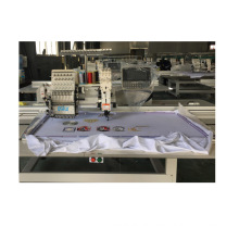 QS-1201FJP Single Heads Computerized Embroidery Machine rope embroidery  Dahao Computer for T shirt logo label Gold embroidery