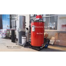 Caldera de vapor de 200kg / H de Gas / LPG / diesel