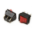 IRS-202-3C red cap rocker switch with led