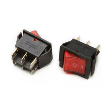 IRS-202-3C Interrupteur à culot rouge avec led