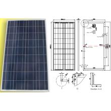 System-Sonnensystem-Licht-Platten-Modul des System-18V 135W 140W 145W 150W mit TÜV genehmigt
