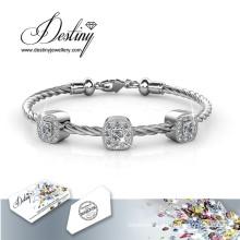 Destiny Jewellery Crystals From Swarovski Square Bracelet