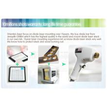 Pila de diodos 808nm 10 x 26 mm enfriada por agua para la reparación con láser