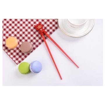 Cartoon Head Chinese Chopsticks for Beginner Child Kids