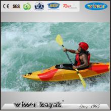 Caiaque Rápido Sit Único em Água Branca Kayak / Canoa / Mini Barco de Velocidade