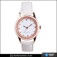 Espectáculo de relógio da senhora da moda, relógio de bolso de quartzo japonês Movt