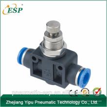 Accesorios neumáticos del regulador de velocidad recta de la unión neumática de China