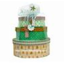 Luxury Round Christmas Packaging Paper Box
