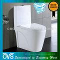 Foshan Sanitary Ware Supplier Color blanco S-trap Siphon Jet Inodoros de una pieza