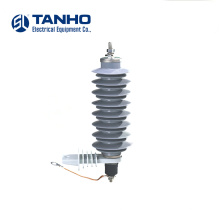 China Newest Design Types 24KV Electrical equipment silicone rubber lightning arrester