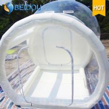 OEM de fábrica Venta al por mayor Dome Camping Tents inflable césped Igloo transparentes Clear Bubble Tent