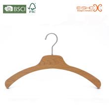 Eisho натуральная древесина ламинированная вешалка для одежды