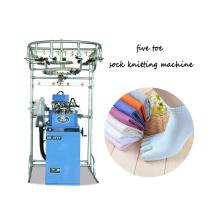 nouvelle conception RB-6FTP seconde main cinq orteils coton éponge chaussettes à tricoter avec le meilleur prix