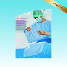 Robe chirurgicale Utiliser un tissu non tissé