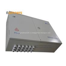 Напольная коробка распределения оптического волокна металла 48 сердечников
