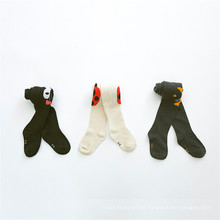 Pantyhose de algodón de los niños vendiendo caliente medias de la historieta hecha de algodón de buena calidad