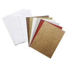 Cores Puras De Várias Cores Prateado Cartão De Glitter De Ouro Glitter Cartão De Papel