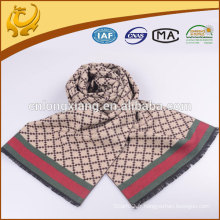 Chine Factory Simple Design hiver foulard en soie Vente en gros