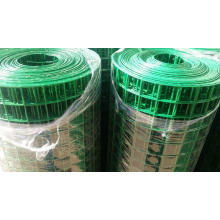 """PVC Coated Welded Wire Mesh 1/4"""" for Fencing"""