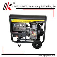 1.5 Дизель-генератора кВт Сварочный, Сварочный аппарат, Генерирующий все медной катушки дизельный сварочный генератор сварочный аппарат