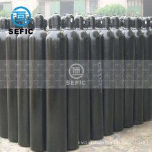 80L 200bar industrial welding filling plant oxygen argon bottle, gas cylinder