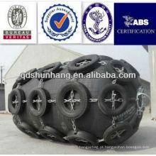 Tipo pneumático da doca usado no pára-choque do hidrofólio da segurança e da proteção