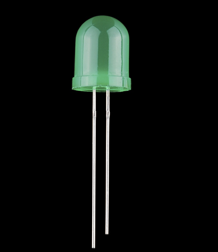 10mm green LED