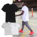 Plain Kurzarm T-Shirt Einfache Art Pullover Tops & Tee