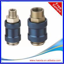 Válvula solenóide pneumática pneumática de série MV com comando manual