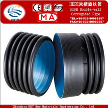 PE Double Wall Corrugated Pipes Used for Drainpipe