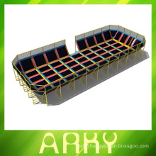 Good Quality Indoor Trampolines For Commercial Playgrounds