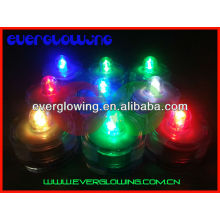 multi color tea led candle water floating hot sell 2017
