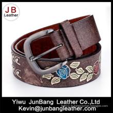 Cinturon en PU à la ceinture en relief pour femme - Jbe1611