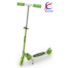 120mm Flashing PU Wheel Kick Scooters (BX-SK351)