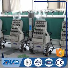 Máquina de bordar computadorizada com preço de lantejoulas doubel 21 cabeças
