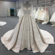 puff sleeves beaded pink evening dresses ball gown elegant long evening dresses with long train