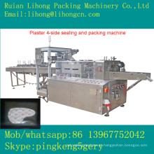Gsb-220 de alta velocidade automático 4-Side Warm Plaster Selling Machine