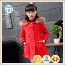 Meninas casacos de inverno fotos XMAS moda vermelho populares casacos de roupas crianças casacos de inverno italiano casaco de pele meninas casaco de moda