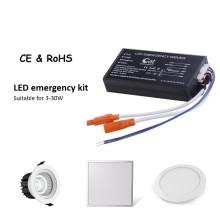 Fonte de alimentação LED de emergência de ampla tensão
