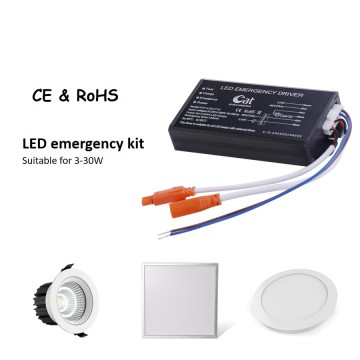 Alimentation LED d'urgence à large tension
