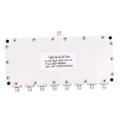 high quality N female 8 way eight antenna power catv splitter