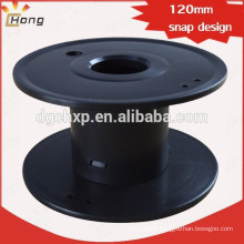 empty cable roller wire spool snap hook design