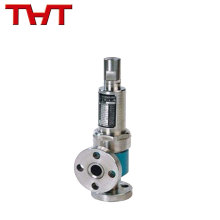 válvula de seguridad de alta presión cargada por resorte para la caldera