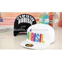 Profesional custom snapbacks cap with your own logo