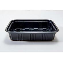 Boîte à lunch en plastique PS jetable rectangulaire