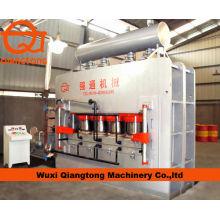 Wuxi Qiangtong YX2400T 7*9 short cycle pressing line/ melamine laminating machine