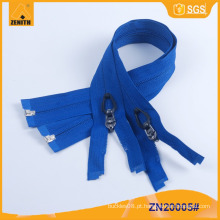 Nylon zíper anti puxar personalizado por Zipper fabricante ZN20005