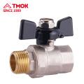 TMOK Robinet à tournant sphérique forgé Robinet à tournant sphérique en laiton de 90 degrés en haute qualité