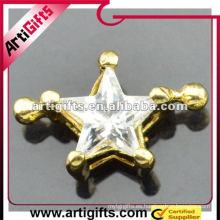 Colgante de estrella de diamantes de imitación de la moda